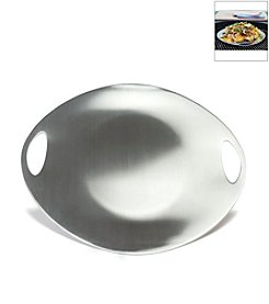 Charcoal Companion® Stainless Steel Grilling and Serving Plate
