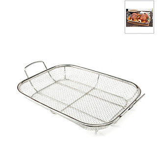 Charcoal Companion® Stainless Wire Mesh Roasting Pan