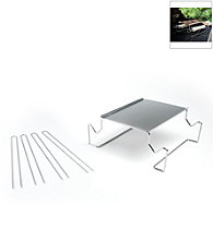 Charcoal Companion® Stainless S'mores Roasting Rack with Skewers