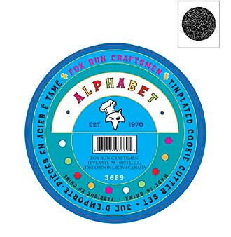 Fox Run Craftsmen® 26-pc Alphabet Cookie Cutter Set