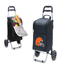 Cleveland Browns Black Cart Cooler