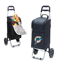 Miami Dolphins Black Cart Cooler