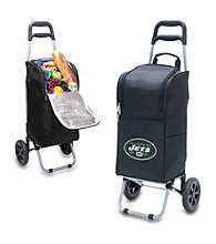 New York Jets Black Cart Cooler