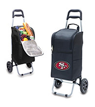 San Francisco 49ers Black Cart Cooler