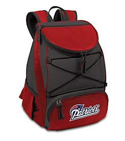NFL® New England Patriots Red PTX Backpack Cooler