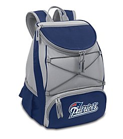 NFL® New England Patriots Navy PTX Backpack Cooler