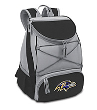 Baltimore Ravens Black PTX Backpack Cooler