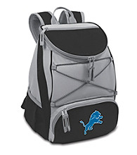 Detroit Lions Black PTX Backpack Cooler