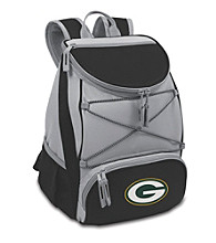 Green Bay Packers Black PTX Backpack Cooler