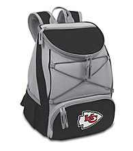Kansas City Chiefs Black PTX Backpack Cooler