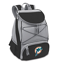 Miami Dolphins Black PTX Backpack Cooler