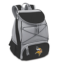 Minnesota Vikings Black PTX Backpack Cooler