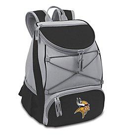 NFl® Minnesota Vikings Black PTX Backpack Cooler