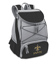 New Orleans Saints Black PTX Backpack Cooler