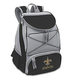 NFL® New Orleans Saints Black PTX Backpack Cooler