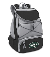 New York Jets Black PTX Backpack Cooler