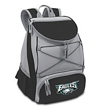 Philadelphia Eagles Black PTX Backpack Cooler
