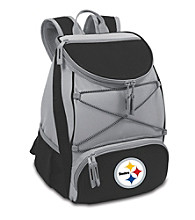 Pittsburgh Steelers Black PTX Backpack Cooler