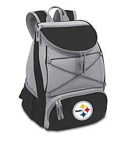NFL® Pittsburgh Steelers Black PTX Backpack Cooler