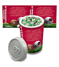 Arizona Cardinals Silver Gray Mega Can Cooler