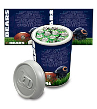 Chicago Bears Silver Gray Mega Can Cooler