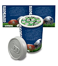 Dallas Cowboys Silver Gray Mega Can Cooler