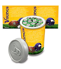 Minnesota Vikings Silver Gray Mega Can Cooler