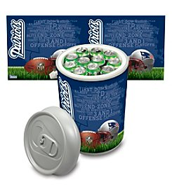 NFL® New England Patriots Silver Gray Mega Can Cooler