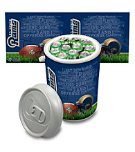 St. Louis Rams Silver Gray Mega Can Cooler