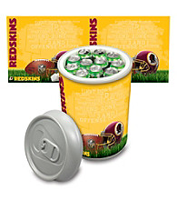 Washington Redskins Silver Gray Mega Can Cooler