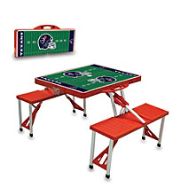 Houston Texans Red Picnic Table