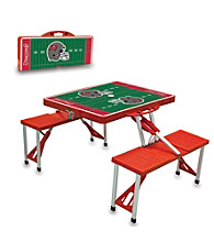 Tampa Bay Buccaneers Red Picnic Table