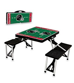 Picnic Time NFL® Atlanta Falcons Black Picnic Table