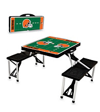Cleveland Browns Black Picnic Table