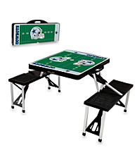 Dallas Cowboys Black Picnic Table