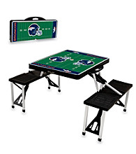 Denver Broncos Black Picnic Table