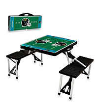 Jacksonville Jaguars Black Picnic Table