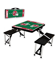Kansas City Chiefs Black Picnic Table