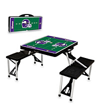 Minnesota Vikings Black Picnic Table