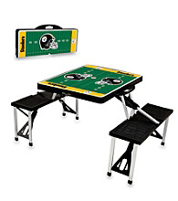Pittsburgh Steelers Black Picnic Table