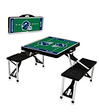 Seattle Seahawks Black Picnic Table