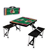Washington Redskins Black Picnic Table