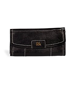 The Sak® Iris Black Onyx Flap Wallet