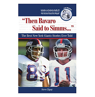 "Triumph Books ""Then Bavaro Said to Simms..."""