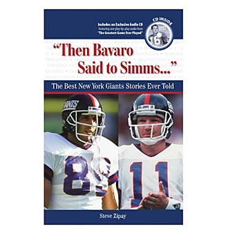 """Triumph Books """"Then Bavaro Said to Simms..."""""""