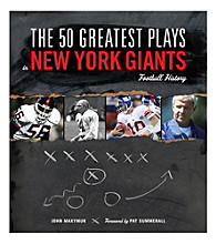 Triumph Books The 50 Greatest Plays in New York Giants Football History