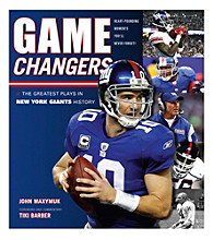 Triumph Books Game Changers: The Greatest Plays in New York Giants History