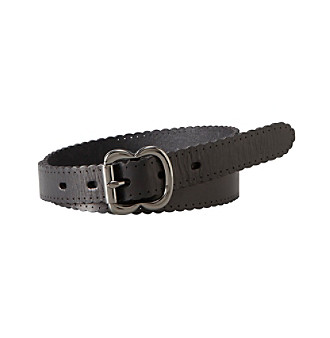 Fossil® Scalloped Jean Belt