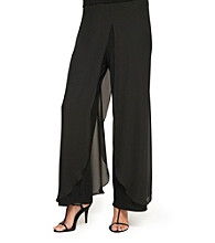 Alex Evenings Pant with Chiffon Panels