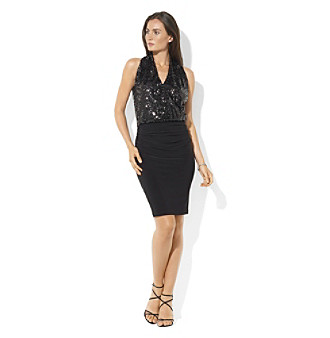 Lauren Ralph Lauren Sequined Cocktail Dress